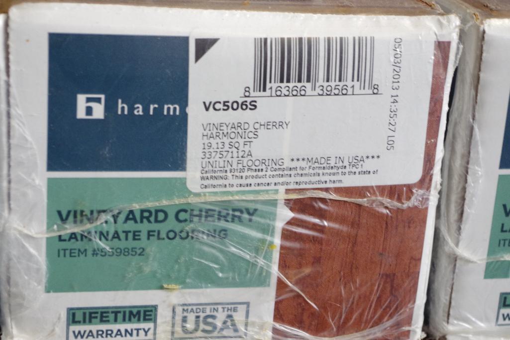 172 Sq Ft Harmonics Vineyard Cherry, Vineyard Cherry Laminate Flooring 559852