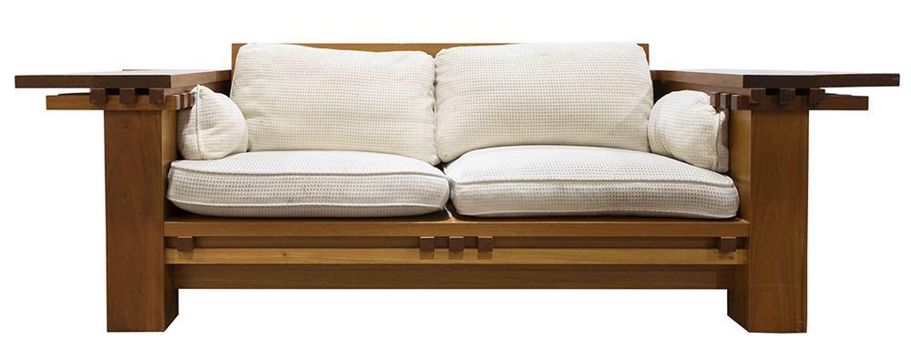 Admirable Berkeley Mills Arts And Crafts Style Prairie Sofa Uwap Interior Chair Design Uwaporg