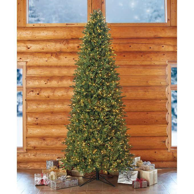 New 12 Artificial Pre Lit Led Christmas Tree W Remote Control
