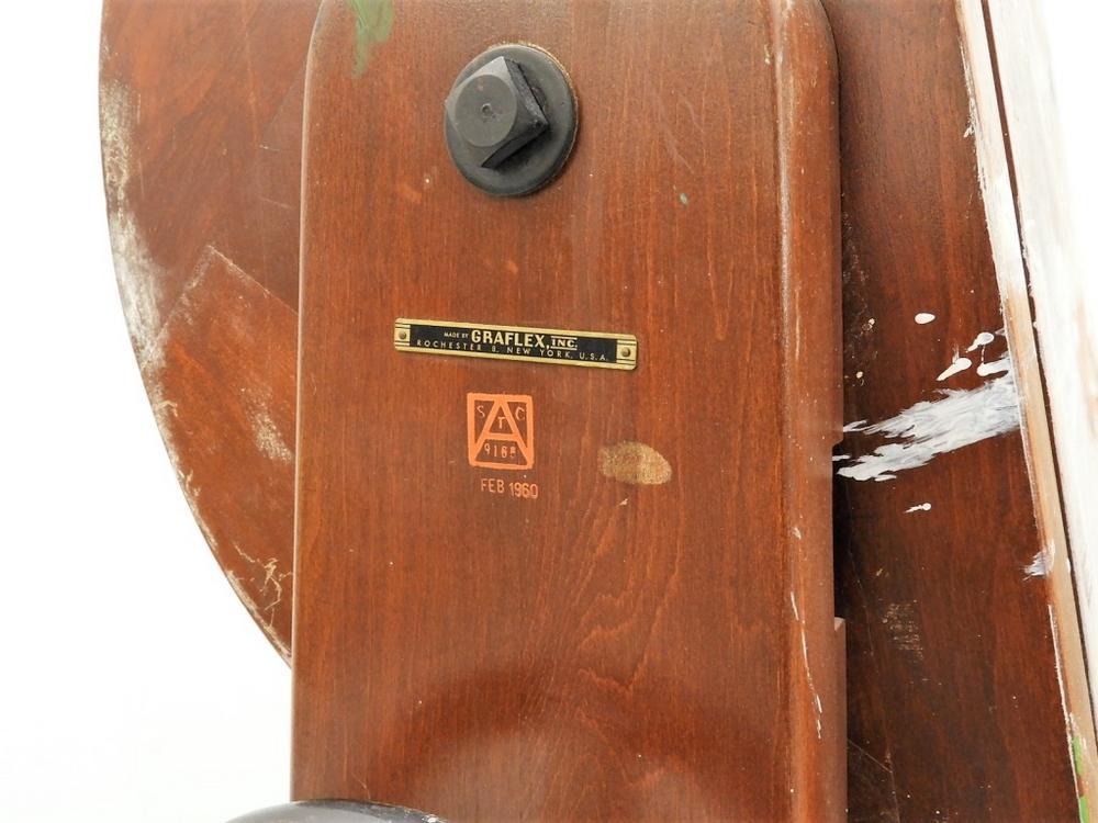 LARGE Vintage Graflex Mahogany Camera Stand