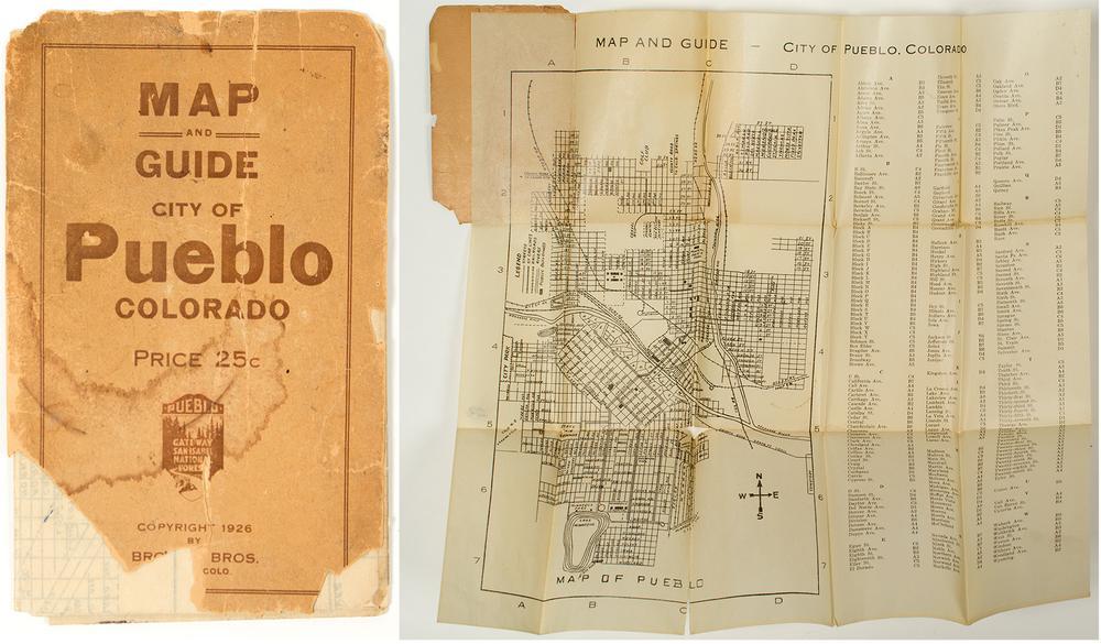 Pueblo, Colorado Map / Guide – Lofty Marketplace