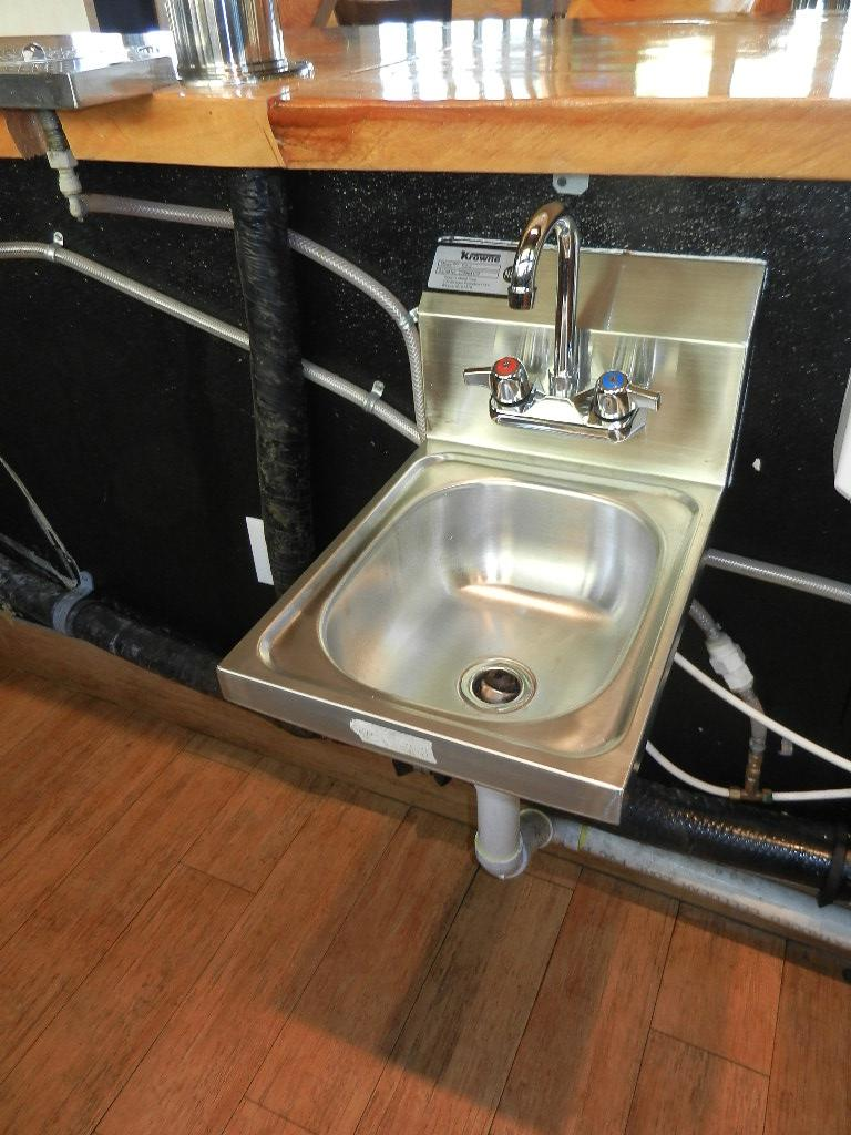 Krowne S/S Wall Mount Hand Sink w/Faucet | Lauro Auctioneers