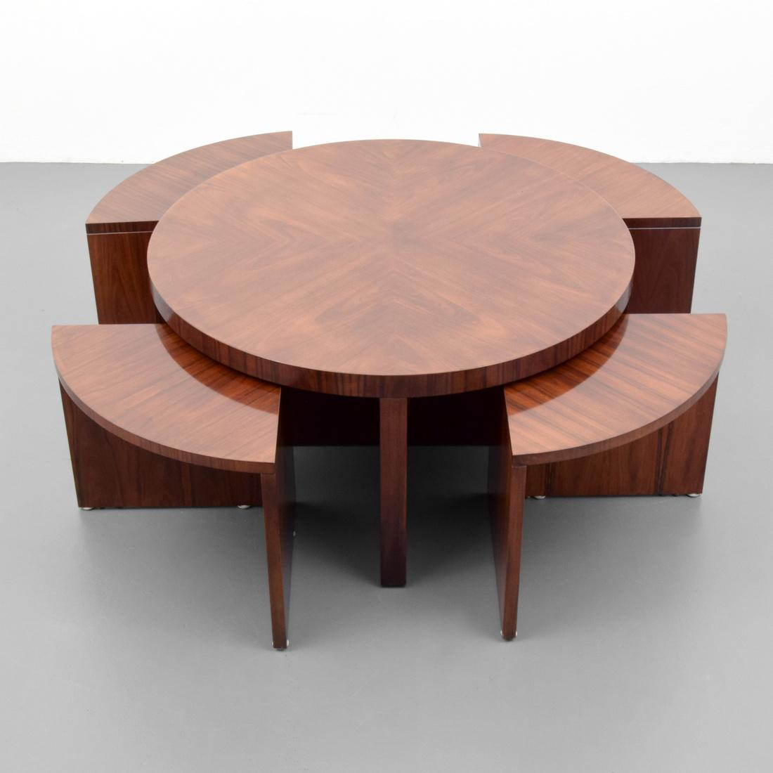 Ralph Lauren Duke Coffee Table With Nesting Tables Palm Beach Modern Auctions
