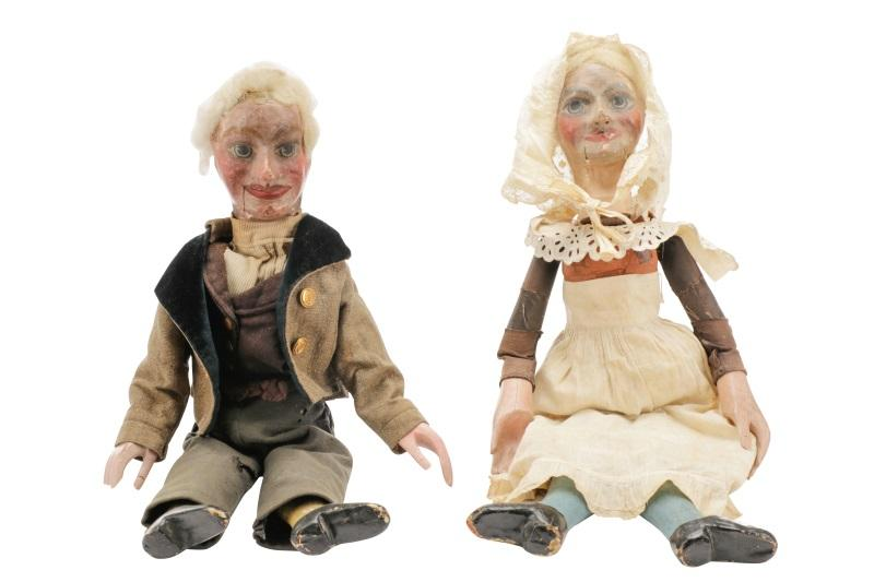 Two Ventriloquist Figures, Alfred LeMare