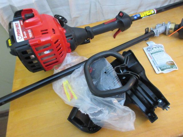 Troy-Bilt Straight Shaft Gas Trimmer 25cc | BC Auctions