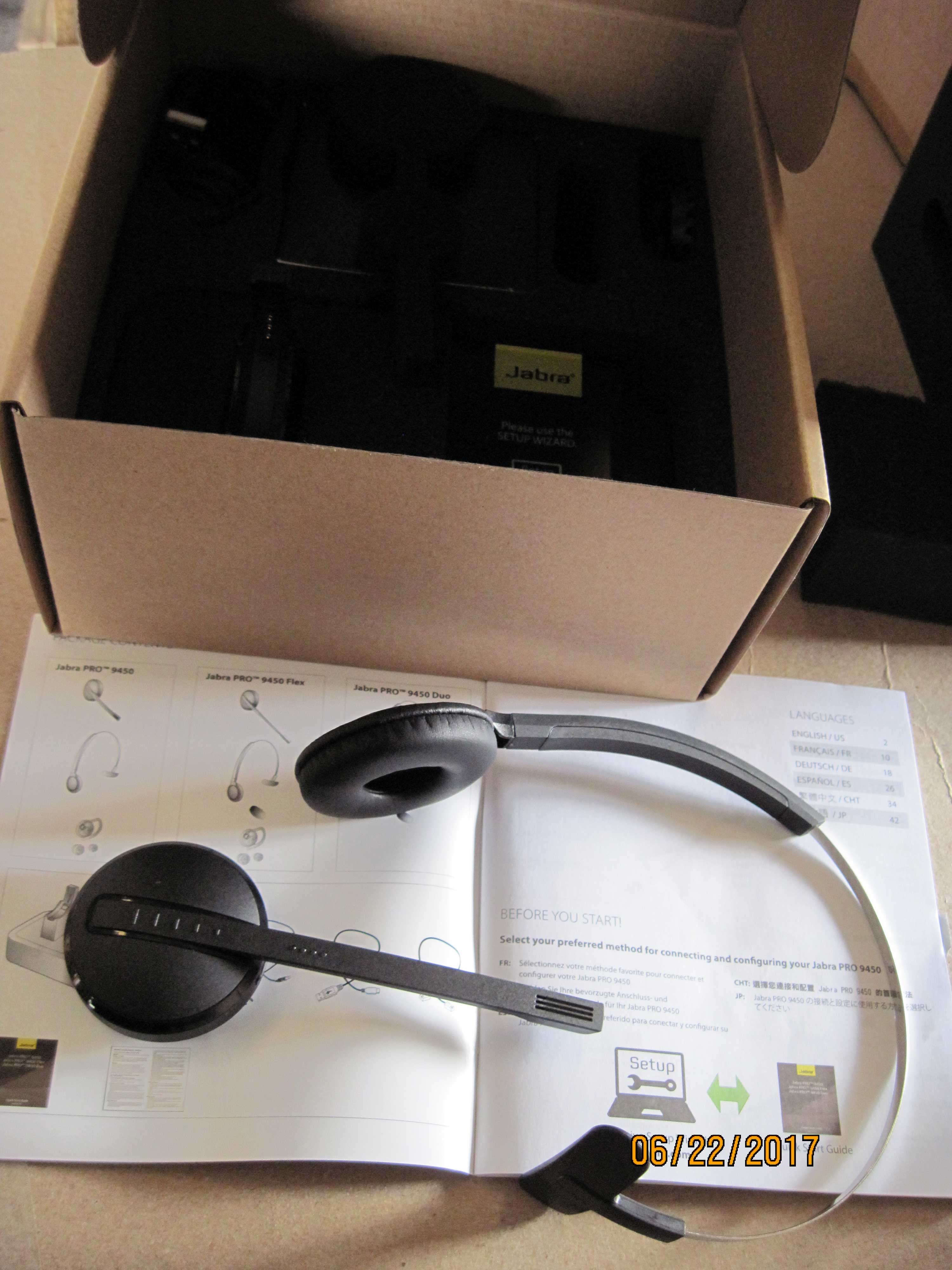 Jabra Pro 9450 Wireless Headsets Cws Asset Management And Sales