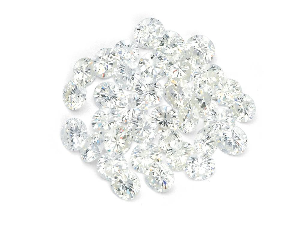 A Parcel of Unmounted Diamonds