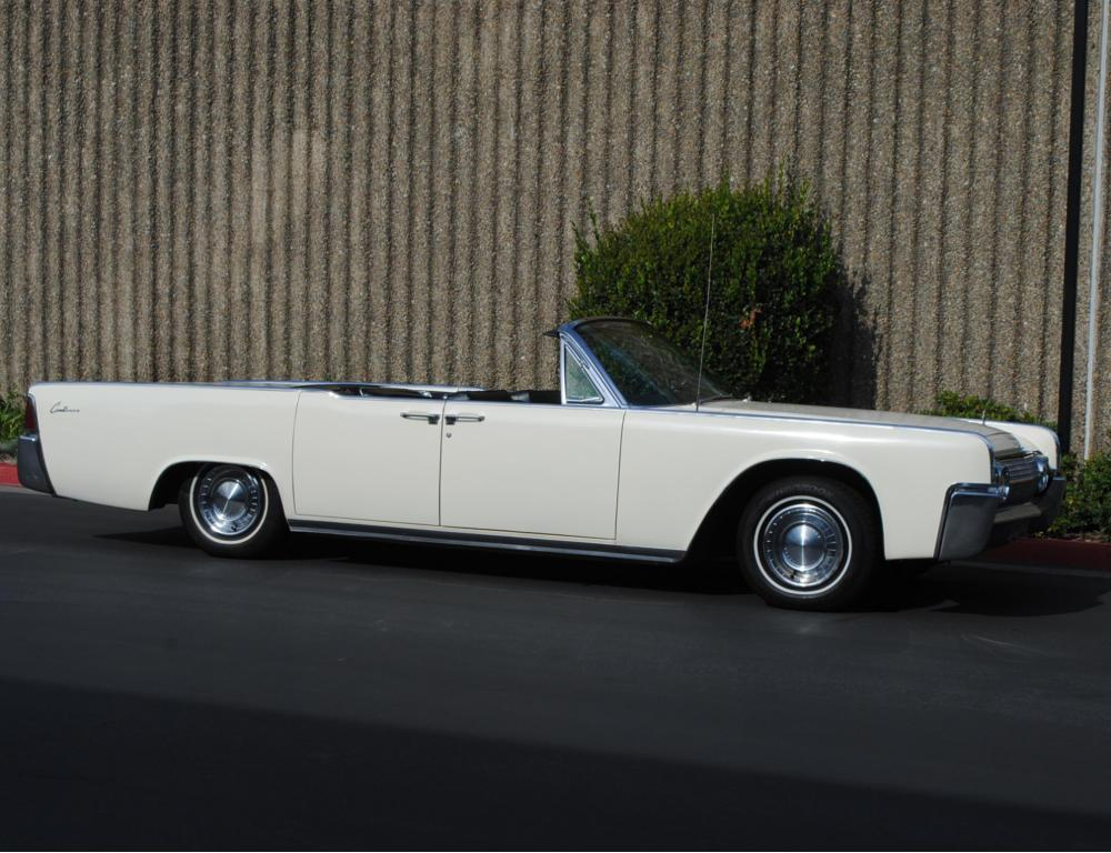 1963 Lincoln Continental Convertible – Lofty Marketplace