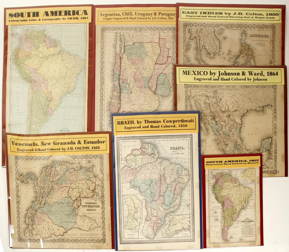 Mexico & South America Maps (7) (62066)