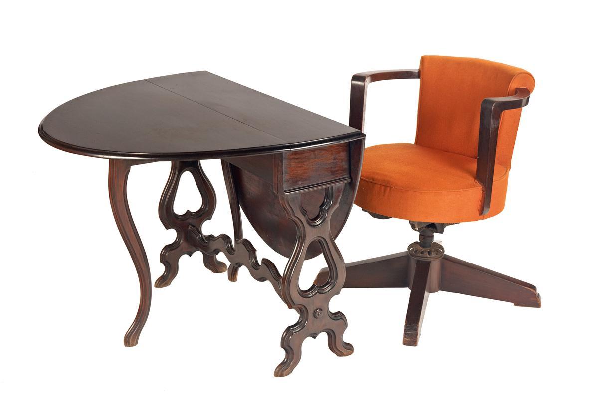 An Art Deco Swivel Chair Pundole S