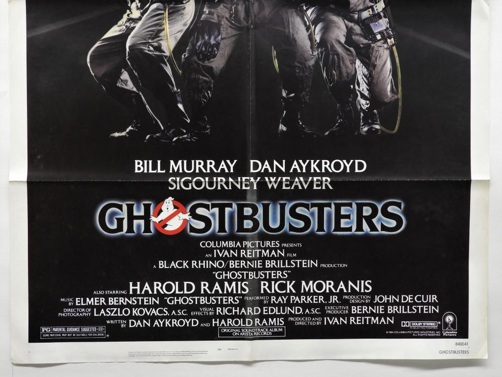 Ghostbusters 1984 One Sheet Movie Poster Lofty Marketplace