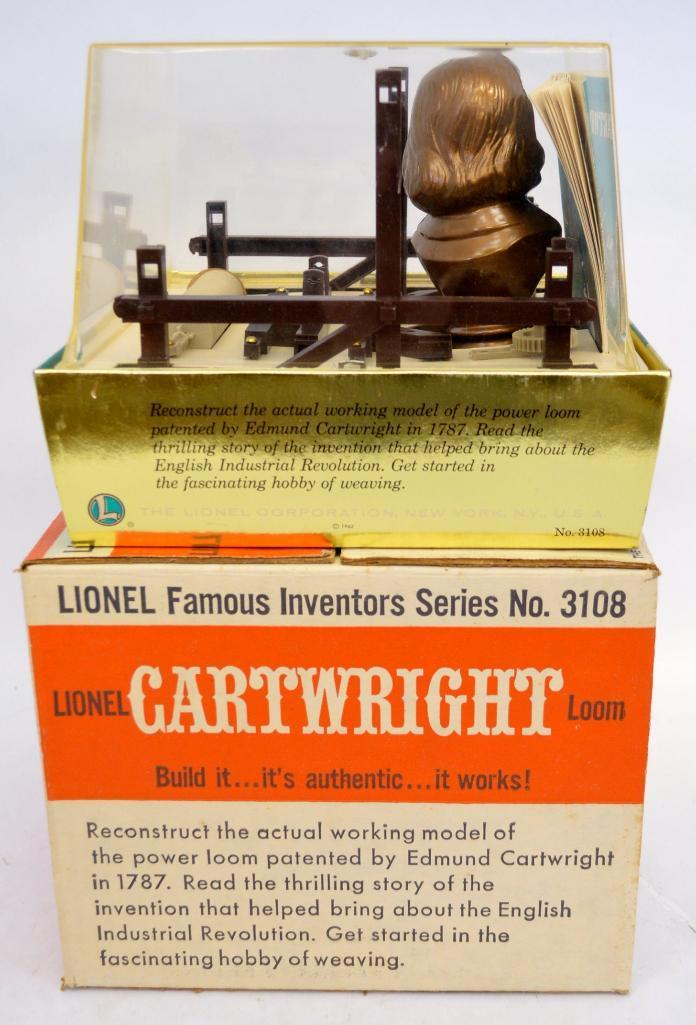 Lionel Inventors Series 3108 Cartwright loom set in original
