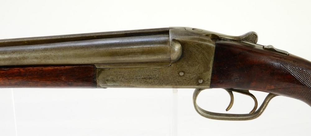 J  Stevens Model 5000 Double Barrel Shotgun
