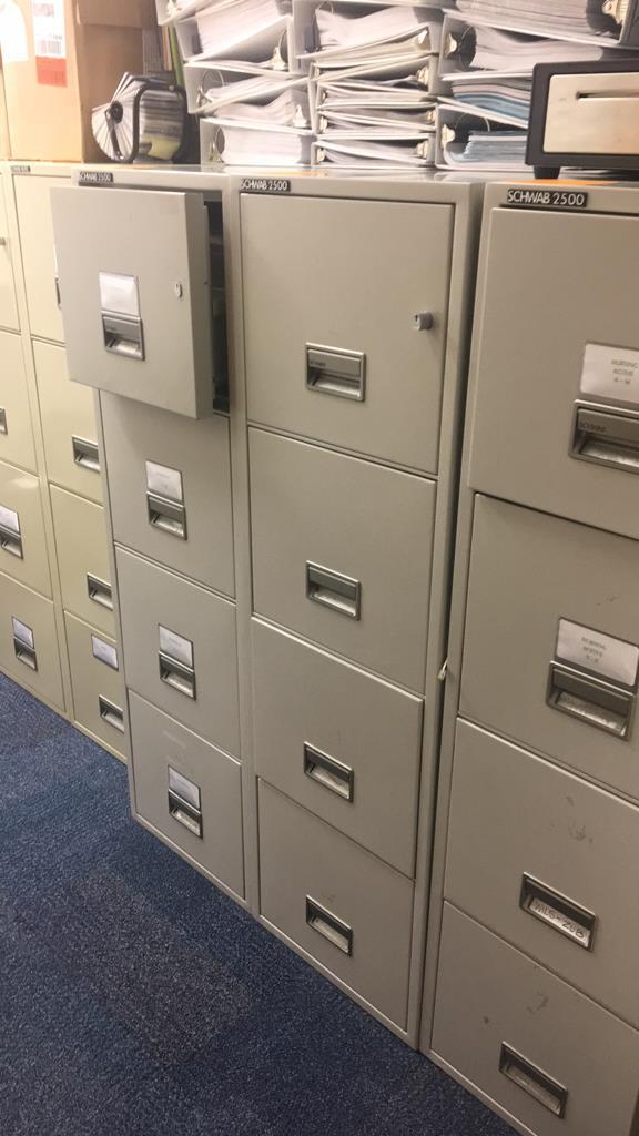 Schwab 2500 Fireproof Filing Cabinet Key Auctioneers