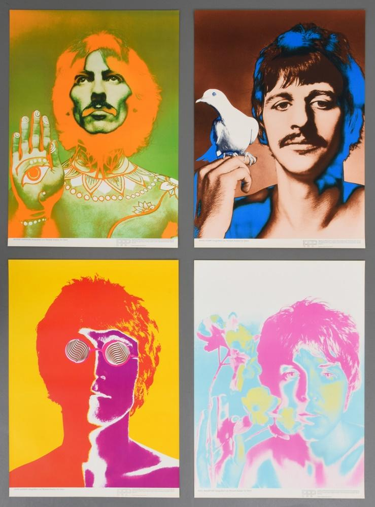 Richard Avedon THE BEATLES Posters Limited 1st Edition