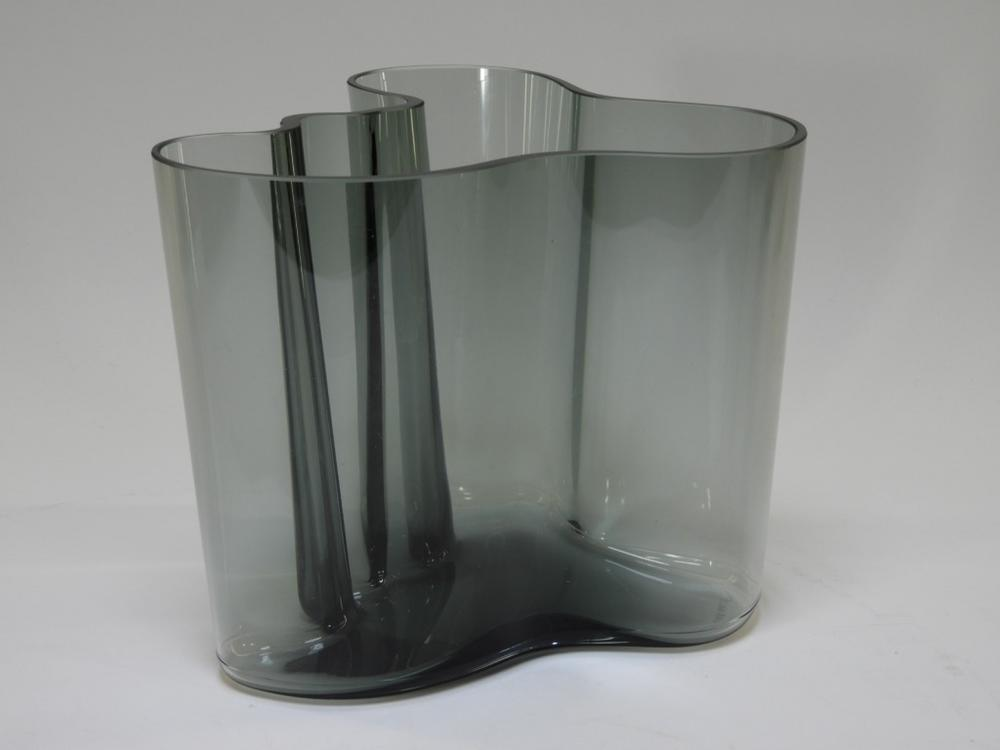 Alvar Aalto Smoked Art Glass Savoy Vase Lofty Marketplace