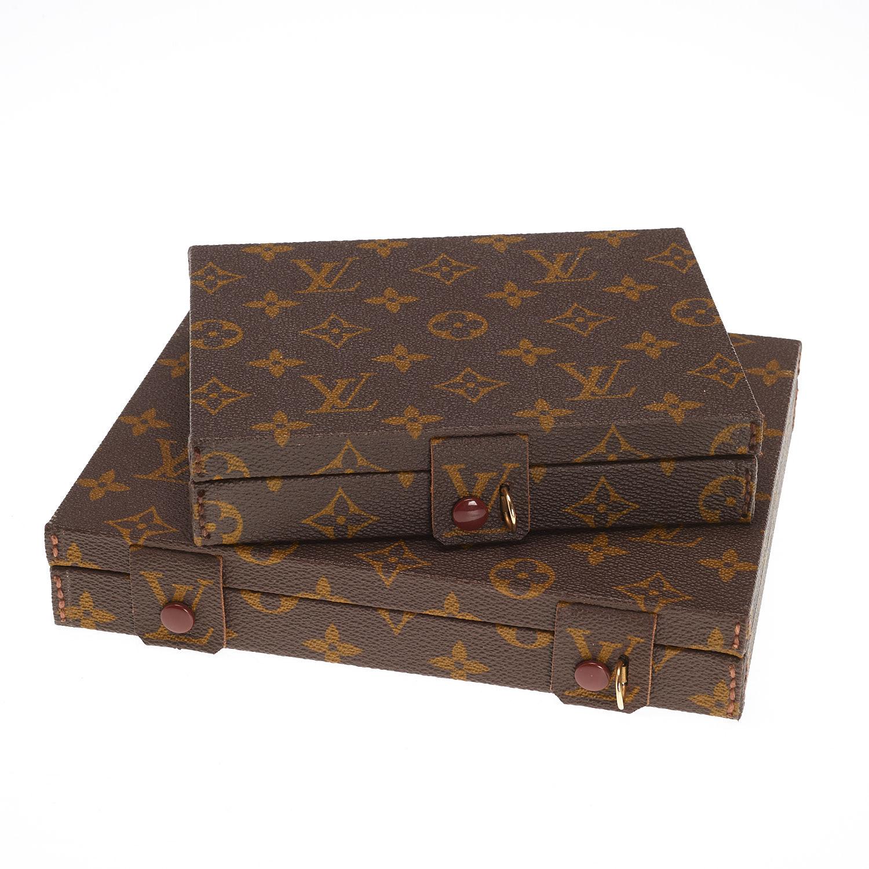 2 Louis Vuitton Monogram travel jewelry cases Lofty Marketplace