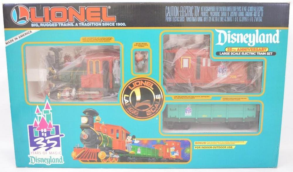 Lionel G scale 8-81007 Disney Magic Express train set in original box
