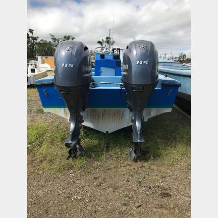 115 HP Twin Yamaha Outboard Engines | CWS - Asset Management
