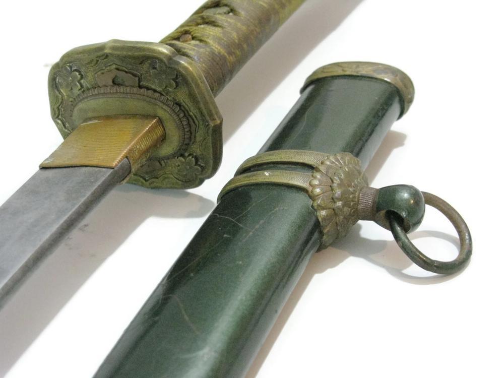 WWII ERA HAND-MADE JAPANESE KATANA SWORD