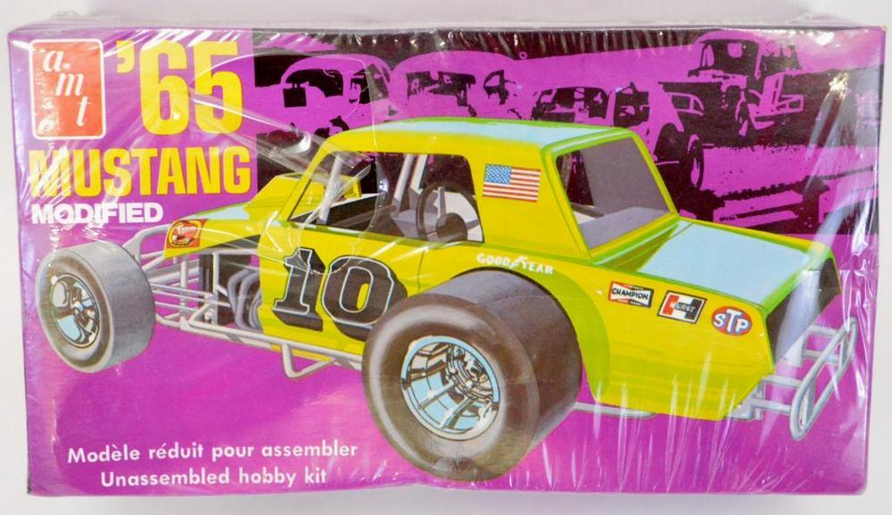 Factory sealed AMT '65 Mustang modified 1/25 scale model kit T180
