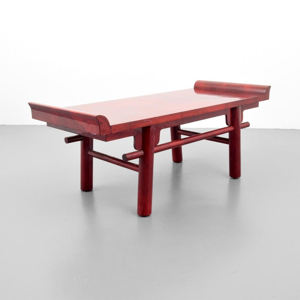 Karl springer goatskin kyoto coffee table palm beach modern auctions geotapseo Images