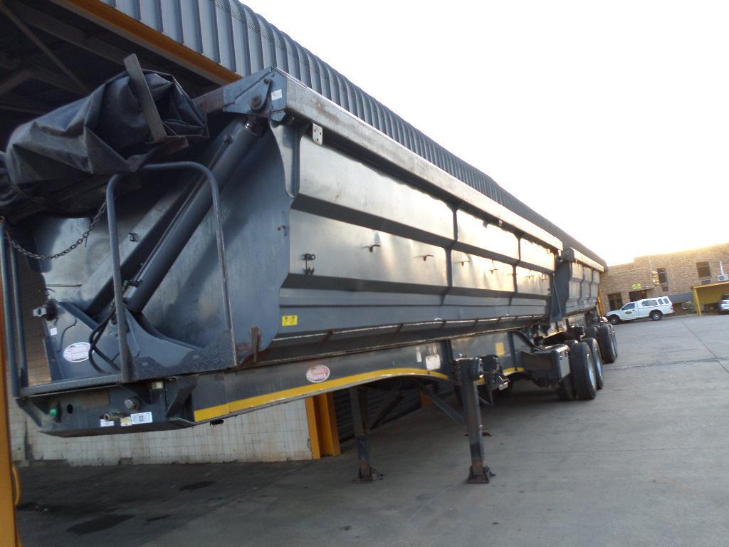89 2011 Bk84wygp Bk84wmgp 2 X Sa Truck Bodies Superlink Side Tipper Condition