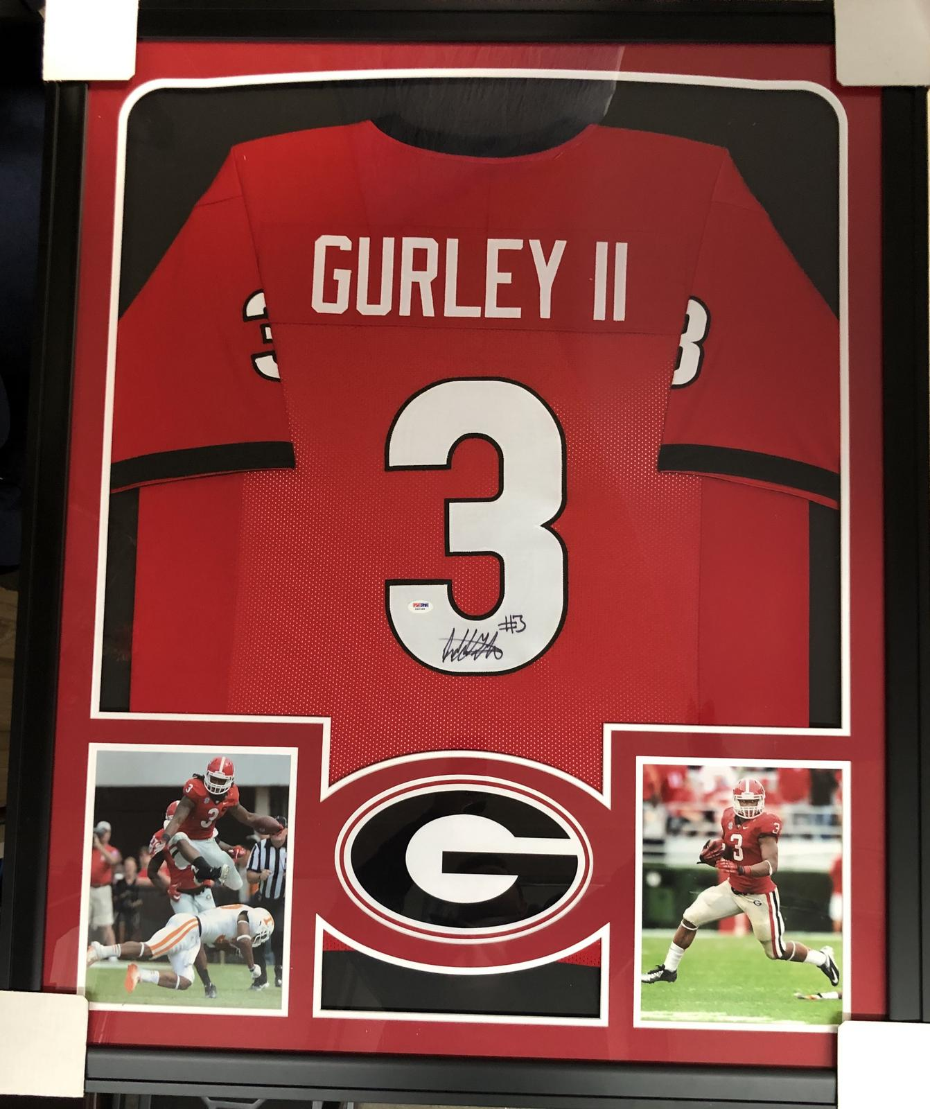 cheap for discount aedac 561fc Todd Gurley Georgia Bulldogs Framed Signed Jersey - JSA ...