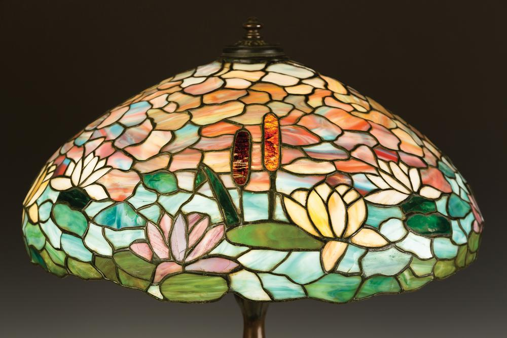 Wilkinson water lily and cattail leaded glass table lamp lofty wilkinson water lily and cattail leaded glass table lamp lofty marketplace aloadofball Choice Image