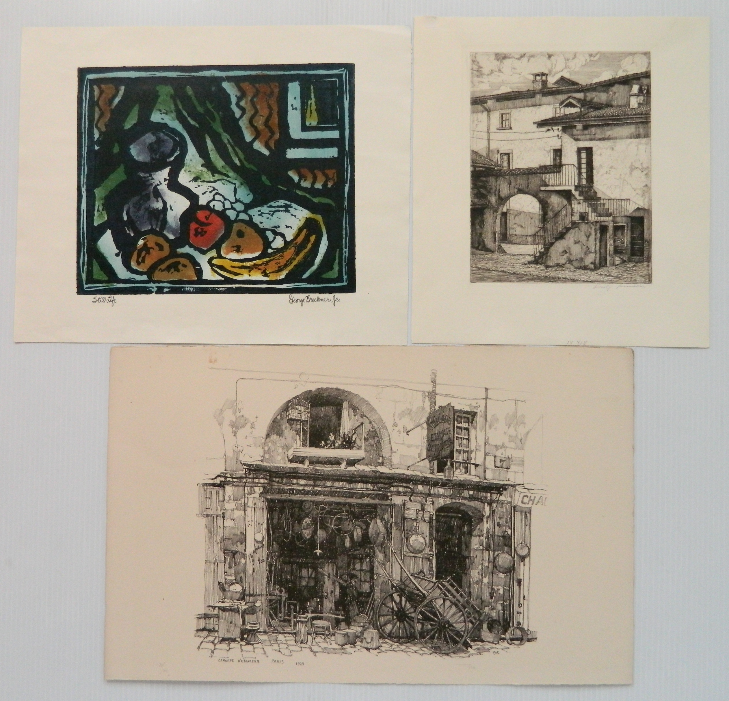 3 American prints