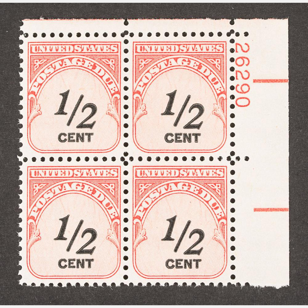 A Half Cent Postage Due Stamp