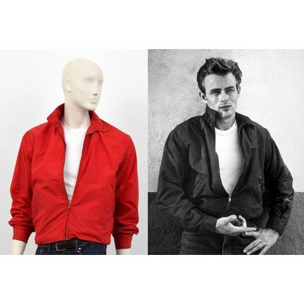James Dean Rebel Without A Cause Red Jacket 1955 Palm Beach