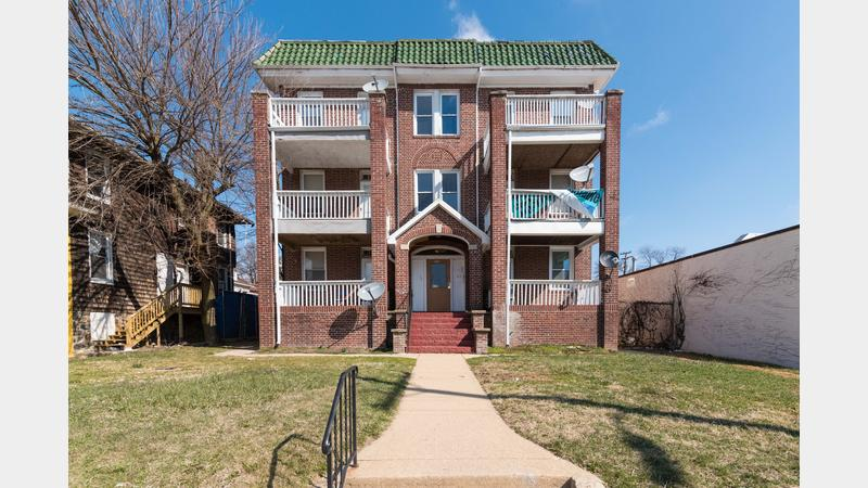 Lot 1 fully leased 6 unit apartment building in the for 6 unit apartment building