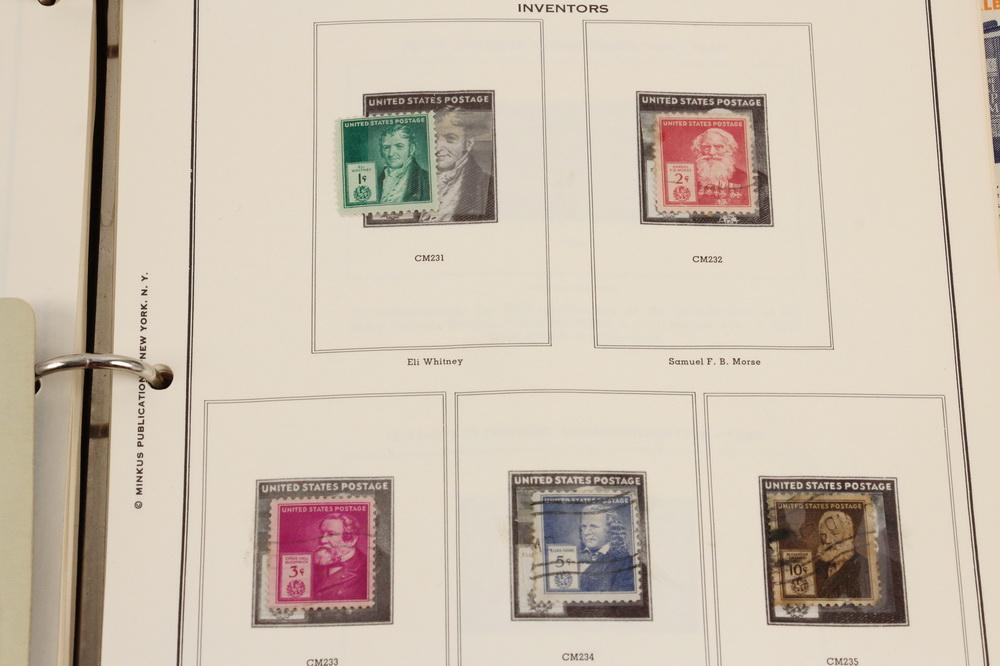 US STAMPS: (3) SCOTT AMERICAN ALBUMS, UN & FDC'S PLUS (6
