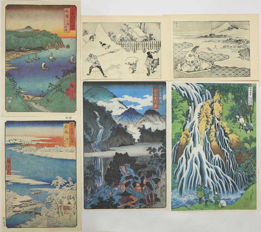 Japanese Prints, Hokusai, Hiroshige, Eisen