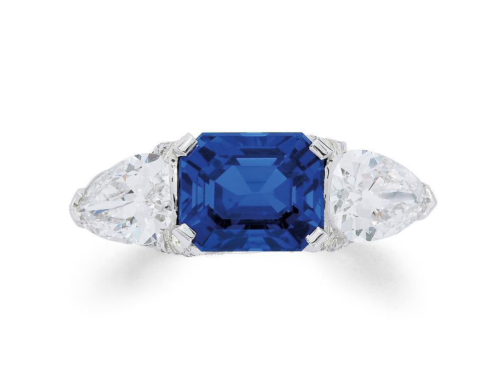 c7a9d4a20 A Fine Sapphire and Diamond Ring, Tiffany & Co., circa 1920 – Lofty  Marketplace