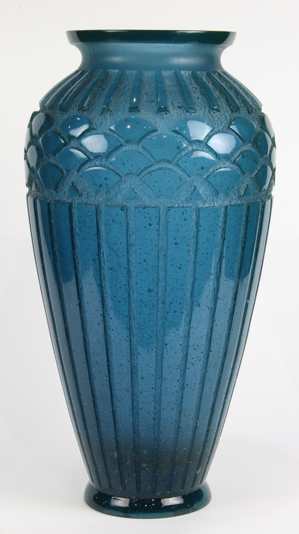 Nancy, France art glass vase