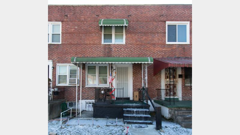 Real estate auction 2633 w lafayette ave 21216 tenant occupied townhome in the mosher - Div background image ...