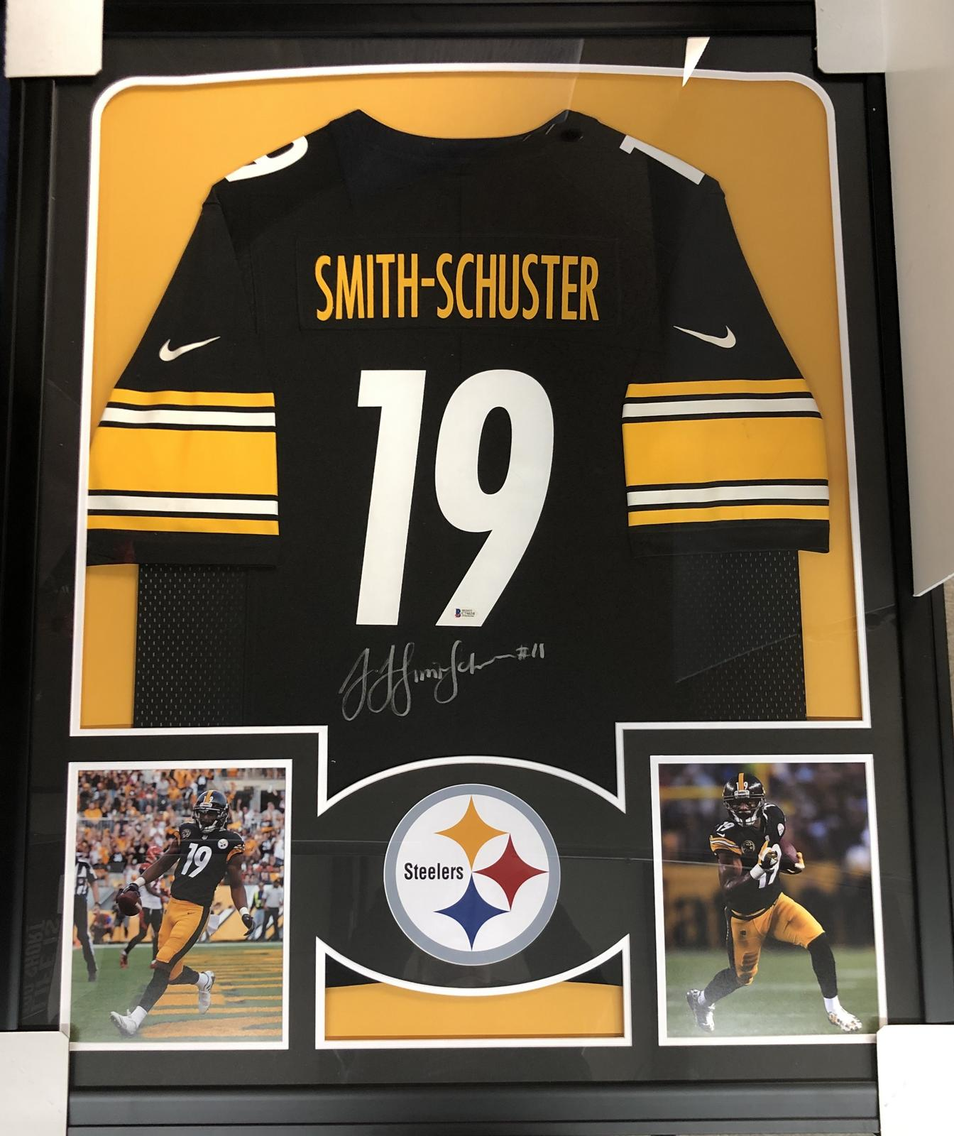 online store ccc19 5d5b5 JuJu Smith-Schuster Pittsburgh Steelers Framed Signed Jersey ...