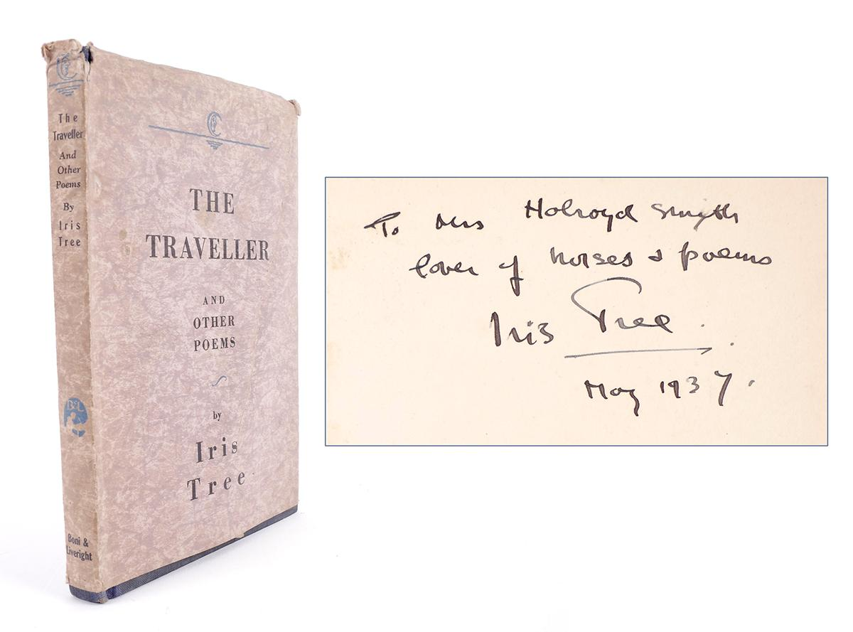 Tree Iris The Traveller And Other Poems First Edition