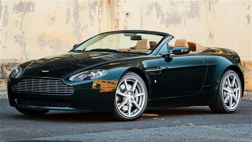 2008 Aston Martin Vantage Convertible Lofty Marketplace