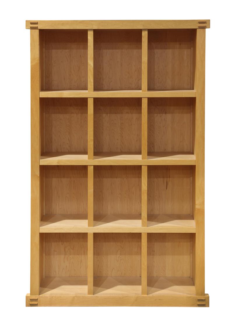 Berkeley Mills custom maple bookcase