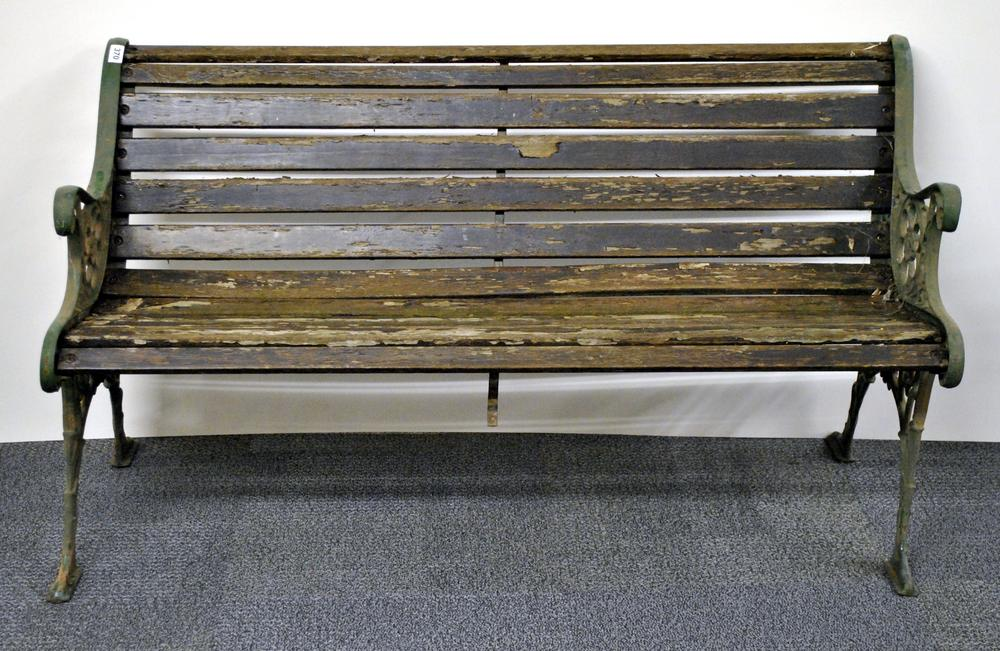 Fine An Old Cast Iron And Wood Garden Bench Caraccident5 Cool Chair Designs And Ideas Caraccident5Info