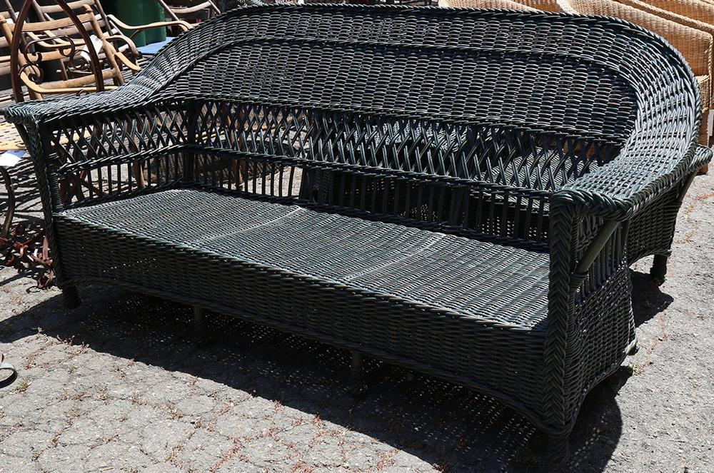 Incredible Palecek Wicker Patio Furniture Group Theyellowbook Wood Chair Design Ideas Theyellowbookinfo