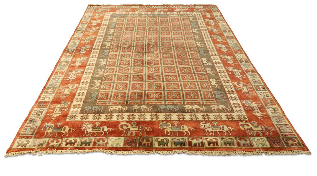 Laristan Village Tribal carpet
