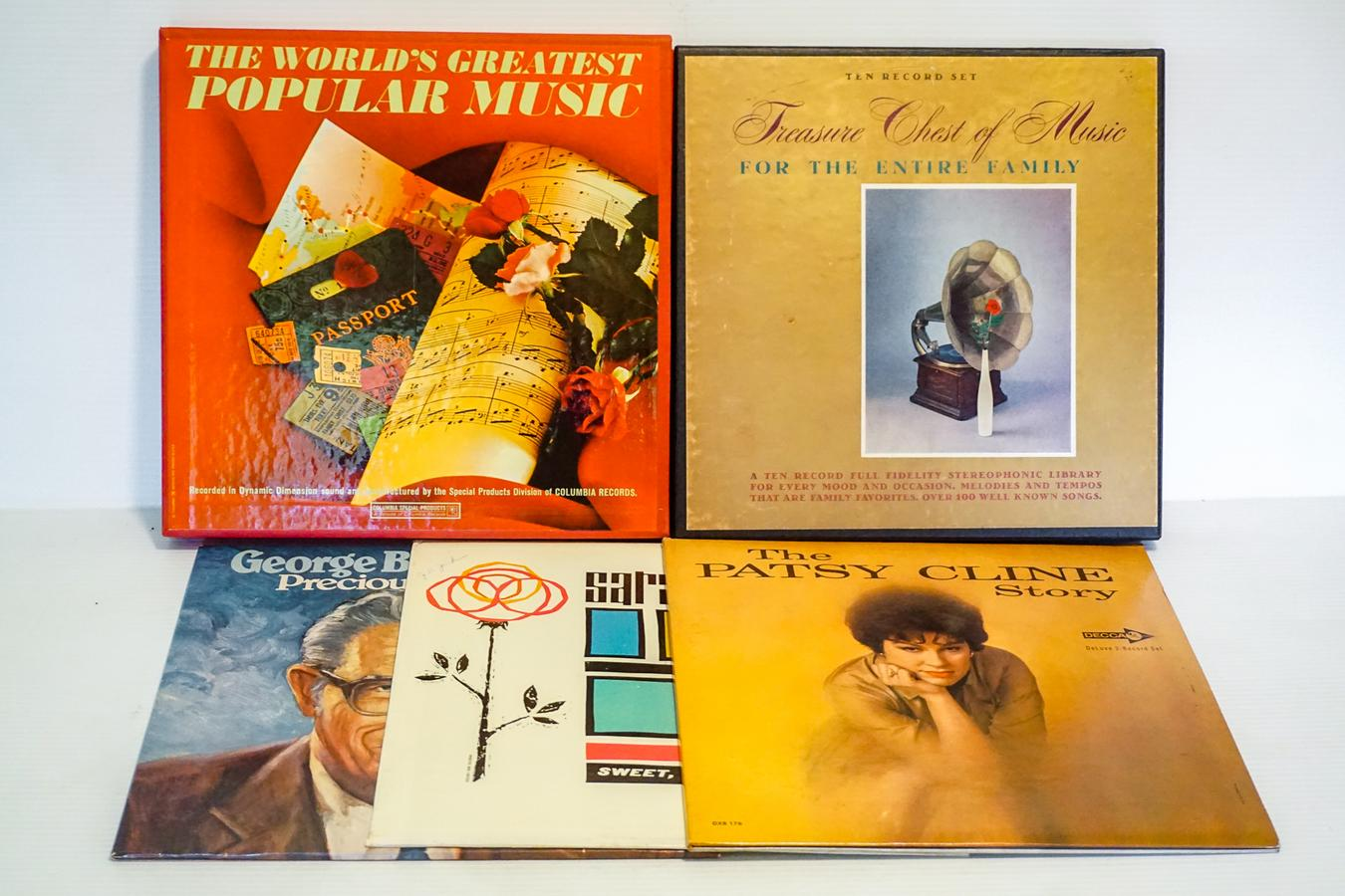 LP Record Collection | Harritt Group, Inc