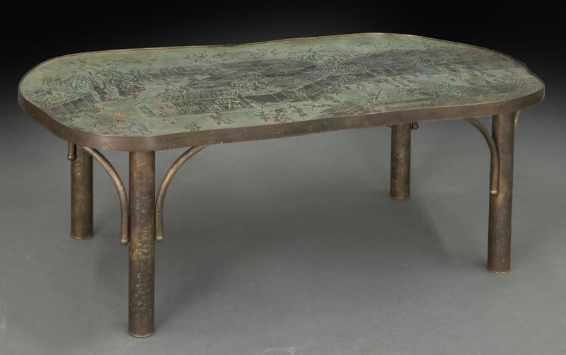 Philip Laverne Coffee Table.Philip And Kelvin Laverne Coffee Table Dallas Auction Gallery