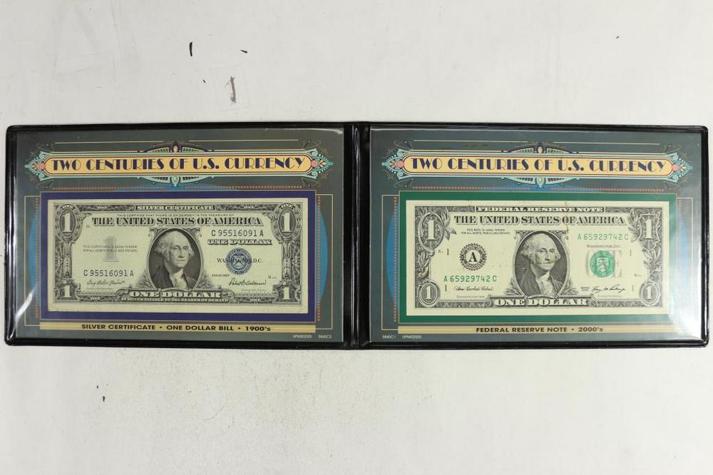 2 Centuries Of Us Currency Includes 1957 1 Lofty Marketplace