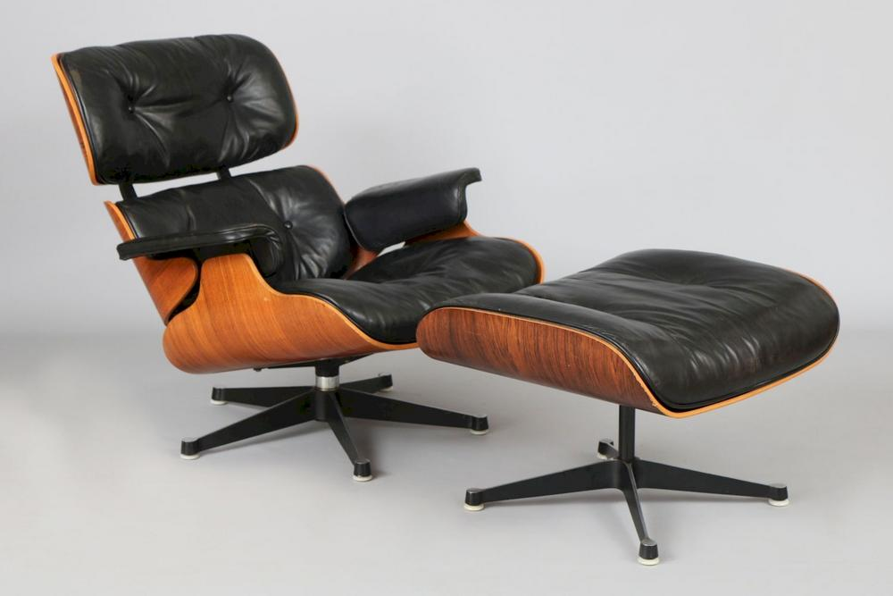 Awesome Charles Ray Eames Lounge Chair Mit Ottomane Machost Co Dining Chair Design Ideas Machostcouk