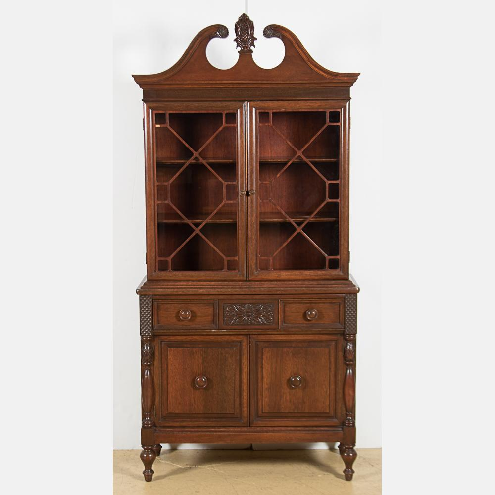 Finch Fine Furniture Mahogany Cabinet